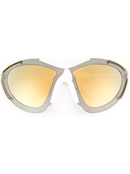 Givenchy Visor Sunglasses White