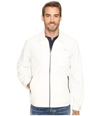 Tommy Bahama Cannes Cruiser Jacket Continental Men's Coat White