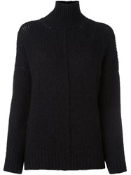 Forte Forte Turtleneck Jumper Black