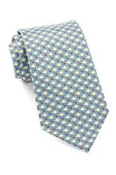 Tailorbyrd Silk Fish Tie Blue