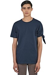 J.W.Anderson Single Knot T Shirt Navy