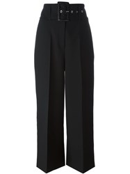 Givenchy Cropped Tailored Trousers Black