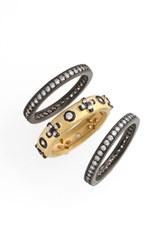 Women's Freida Rothman 'Metropolitan' Stackable Rings Set Of 3