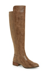 Very Volatile 'Vineyard' Riding Boot Women Brown Faux Leather