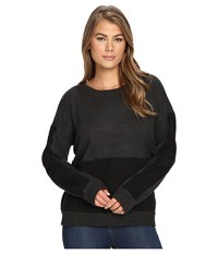 Hurley Avery Pullover Sweater Black Heather Women's Sweater
