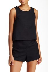 Necessary Objects Crop Top Black