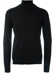 Roberto Collina Turtleneck Sweater Black
