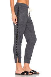 Nation Ltd. Desa Split Capri Pant Charcoal