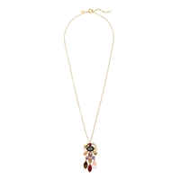 J.Crew Crystal Chandelier Pendant Necklace