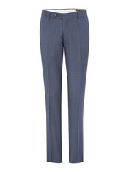 Corsivo Antonio Textured Suit Trouser Blue