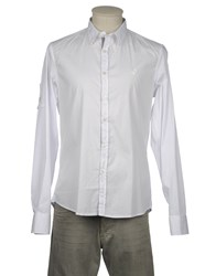 Williams Wilson Shirts Long Sleeve Shirts Men White