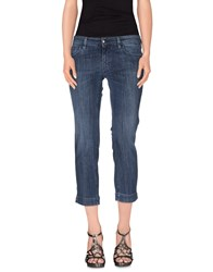 Fay Denim Denim Trousers Women Blue