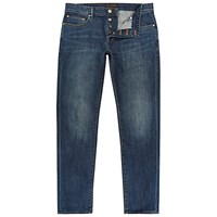 Ted Baker Steed Straight Jeans Dark Wash