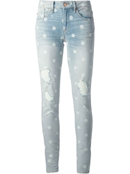 Marc By Marc Jacobs Polka Dot Jeans Blue