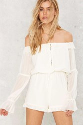 Nasty Gal Drifter Off The Shoulder Romper