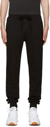 Naked And Famous Black Slim Jogger Lounge Pants