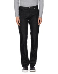 Moschino Couture Denim Denim Trousers Men Black