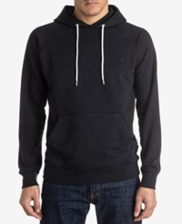 Quiksilver Men's Everyday Raglan Sleeve Hoodie Black
