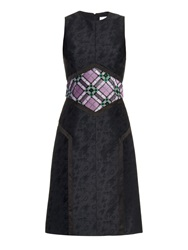 Mary Katrantzou Cowie Sequin Embellished Jacquard Dress