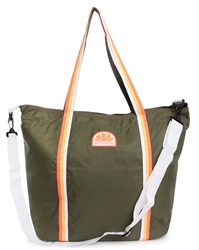 Sundek Army Green Nylon Beach Bag