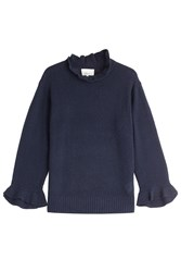 3.1 Phillip Lim Wool Pullover With Yak And Cashmere Blue