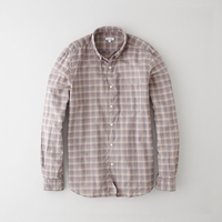 Steven Alan Single Needle Shirt Multi Colored Check