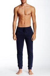 Majestic Ribbed Fleece Lined Soft Pant Blue