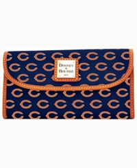 Dooney And Bourke Chicago Bears Clutch Navy