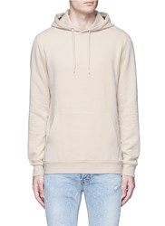 Topman Peached Hoodie Brown