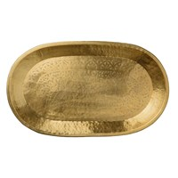 Day Birger Et Mikkelsen Carved Brass Deco Tray