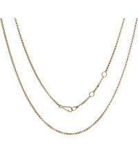 Annoushka Classic 18Ct Yellow Gold Long Belcher Chain Necklace