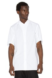 11 By Boris Bidjan Saberi Button Down Shirt White