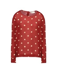 Local Apparel Blouses Red