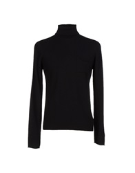 Original Vintage Style Turtlenecks Black