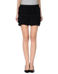 Amy Gee Mini Skirts Black