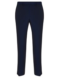 John Lewis Kin By Stamford Tonic Slim Fit Suit Trousers Midnight Blue