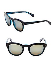Marc By Marc Jacobs Two Tone Cat Eye Sunglasses Black