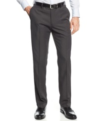 Haggar Straight Fit Performance Microfiber Dress Pants