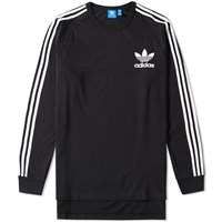 Adidas Long Sleeve Adc Fashion Tee Black
