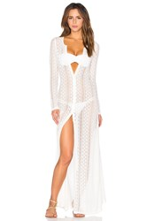 L Space Summer Breeze Cover Up White