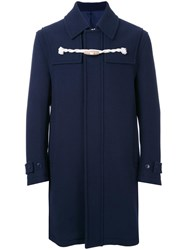 Cityshop Toggle Duffle Coat Blue