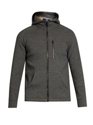 Fusalp Owel Hooded Zip Through Jacket Grey