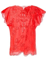 Tsumori Chisato Embroidered Blouse
