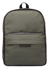 Marc By Marc Jacobs Cotton Backpack With Leather Green