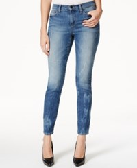 Dkny Jeans City Ultra Skinny Jeans High Line Blue Wash