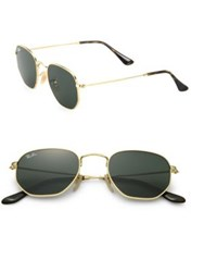 Ray Ban Tortoise Round Sunglasses Gold Black
