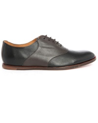 Opening Ceremony Black Brown Two Tone Leather Brogues