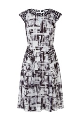 Fenn Wright Manson Aster Dress Black White