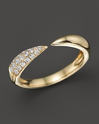 Bloomingdale's Diamond Claw Ring In 14K Yellow Gold .20 Ct. T.W.