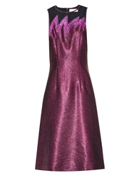 Christopher Kane Lightening Bolt Metallic Dress